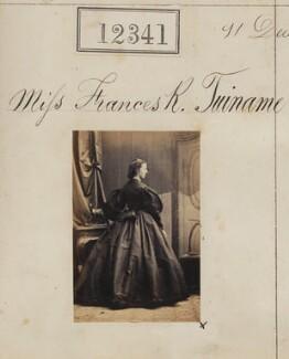 Frances R. Tuiname, by Camille Silvy - NPG Ax61995