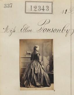 Ellen Ponsonby, by Camille Silvy - NPG Ax61997