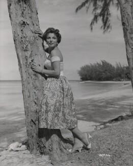 Joan Collins, by Ken Danvers - NPG x196230
