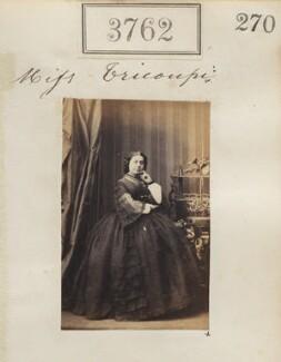 Sophia Trikoupi (Tricoupi), by Camille Silvy - NPG Ax53154