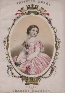 Victoria, Empress of Germany and Queen of Prussia, by John Brandard, printed by  M & N Hanhart - NPG D47431