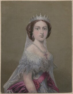 Victoria, Empress of Germany and Queen of Prussia, by George Baxter - NPG D47433
