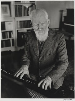 George Bernard Shaw, by Alfred Eisenstaedt - NPG P2027