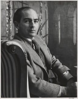 Christopher Fry, by Alfred Eisenstaedt - NPG P2028