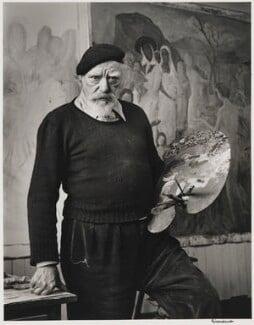 Augustus John, by Alfred Eisenstaedt - NPG P2029