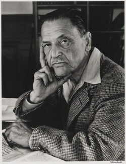 Somerset Maugham, by Alfred Eisenstaedt - NPG P2030