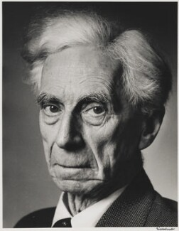 Bertrand Arthur William Russell, 3rd Earl Russell, by Alfred Eisenstaedt - NPG P2032