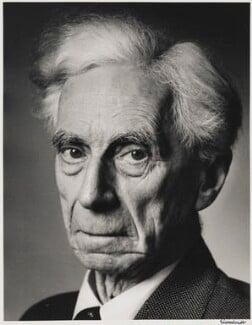 Bertrand Russell, by Alfred Eisenstaedt - NPG P2032