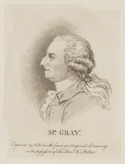 Thomas Gray, by John Raphael Smith - NPG D47449