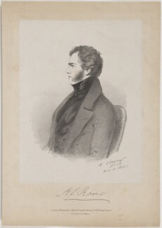 Henry John Rous, by Richard James Lane, published by  John Mitchell, after  Alfred, Count D'Orsay - NPG D47450