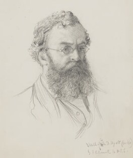 Sir Matthew Digby Wyatt, by Frederick Bacon Barwell - NPG 7031