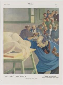 Jacob Epstein ('The Confrontation: Sculptor Jacob Epstein prepares a fresh problem for his public'), after Ernest Forbes - NPG D47442