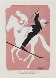 Sir Gordon Richards ('Gordon Richards Steeplechasing'), after Robert Stewart Sherriffs - NPG D47453