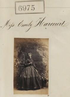 Emily Anne Vernon-Harcourt, by Camille Silvy - NPG Ax56894a