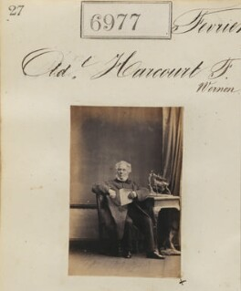 Frederick Edward Vernon-Harcourt, by Camille Silvy - NPG Ax56895