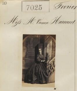 Marcia Elizabeth Vernon-Harcourt, by Camille Silvy - NPG Ax56941