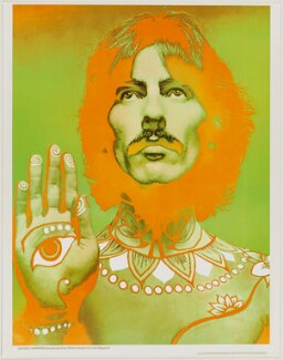 George Harrison, by Richard Avedon - NPG D43289