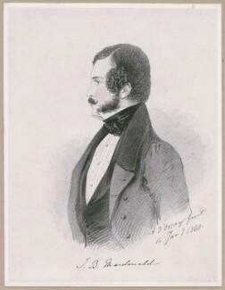 J.B. Macdonald, by Richard James Lane, after  Alfred, Count D'Orsay - NPG D46263