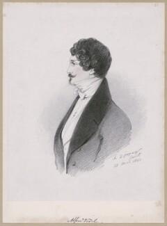 Alfred, Baron de Vidil, by Richard James Lane, after  Alfred, Count D'Orsay - NPG D46265