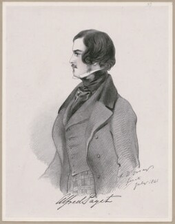 Lord Alfred Henry Paget, by Richard James Lane, after  Alfred, Count D'Orsay - NPG D46269