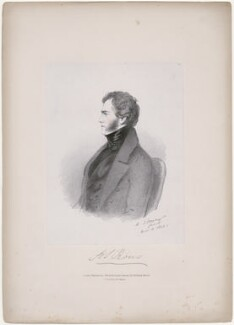 Henry John Rous, by Richard James Lane, printed by  C. Graf, published by  John Mitchell, after  Alfred, Count D'Orsay - NPG D46272