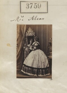 Mrs Alcan, by Camille Silvy - NPG Ax53151