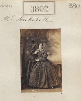 Miss Anketell, by Camille Silvy - NPG Ax53193