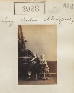 Lady Euston's children, by Camille Silvy - NPG Ax53953