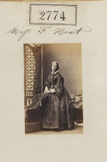 Miss F. Hext, by Camille Silvy - NPG Ax52163