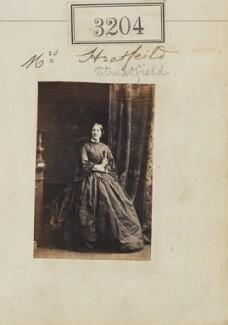 Marion Henrietta Streatfeild (née Smith), by Camille Silvy - NPG Ax52604