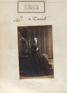 Mrs A'Court, by Camille Silvy - NPG Ax52780