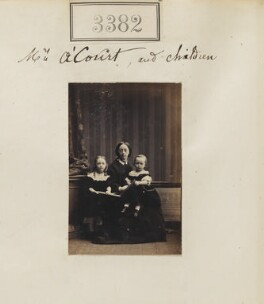 Mrs A'Court and children, by Camille Silvy - NPG Ax52779