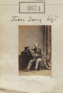 Tudor Davies, by Camille Silvy - NPG Ax53067