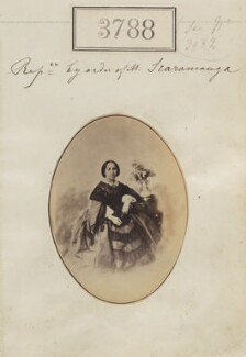 T. Scaramanga ('Reproduction By order of M. Scaramanga'), by Camille Silvy - NPG Ax53179