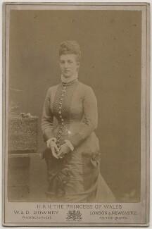 Queen Alexandra, by W. & D. Downey - NPG x196243