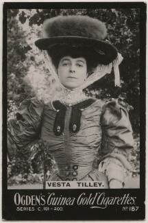 Vesta Tilley, published by Ogden's - NPG x196262