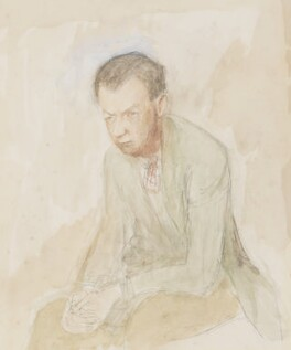 Benjamin Britten, by Mary Potter - NPG 7073