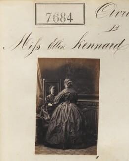 Ellen Thomas (née Kennard), by Camille Silvy - NPG Ax57523