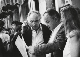 David Cripps; Bruce Bernard, by David Cripps - NPG x199728
