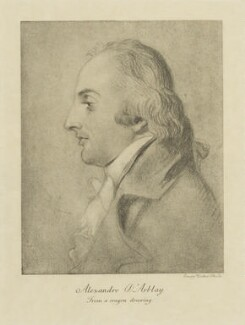 Alexandre-Jean-Baptiste Piochard D'Arblay, by Sir Emery Walker, after  Unknown artist - NPG D47461