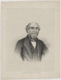 Henry Edward Kendall, by George B. Black - NPG D47462