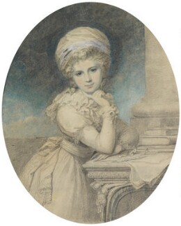 Maria Louisa Catherine Cecilia Cosway (née Hadfield), by Richard Cosway - NPG 7036