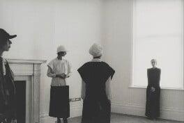 Jean Muir and three unknown models, by Deborah Turbeville - NPG P2033