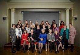 Women Permanent Secretaries, by Jillian Edelstein - NPG x199774