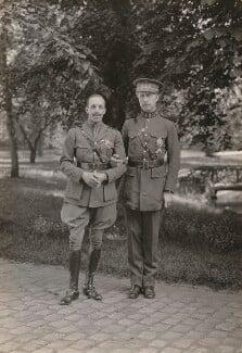 Alfonso XIII, King of Spain; King Albert I of Belgium, by Speaight Ltd - NPG x199623