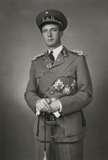 Leopold III, King of the Belgians, by Speaight Ltd - NPG x199630