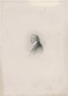J.M.W. Turner, by Charles William Sharpe, after  Alfred, Count D'Orsay - NPG D46295