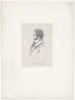 Robert Cutlar Fergusson, by Richard James Lane, after  Alfred, Count D'Orsay - NPG D46296