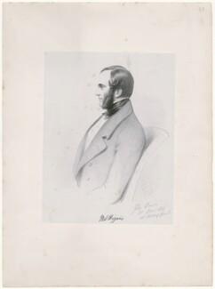 Matthew James Higgins, by Richard James Lane, after  Alfred, Count D'Orsay - NPG D46297