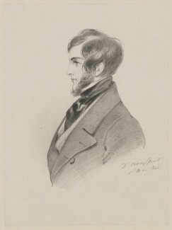 Probably Charles Kinnaird Sheridan, by Richard James Lane, after  Alfred, Count D'Orsay - NPG D47468